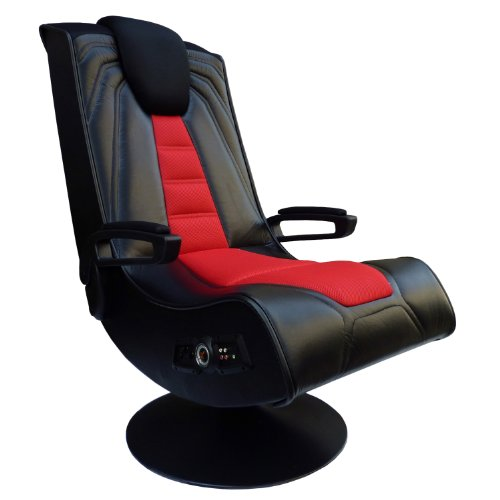 X Rocker Pedestal Extreme III 2.1 Sound Wireless Video Foldable Gaming Chair w/Pedestal Base and 2...