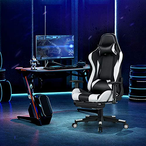 Best Gaming Chairs with Footrest & Massage